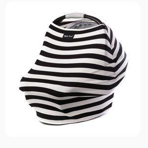 Milk Snob Cover - Black & White Stripes